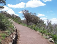 Path on Capulin Volcano