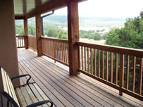 Wolf Lodge Porch